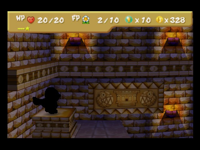 Paper Mario - super dark guy, nice coins btw - User Screenshot